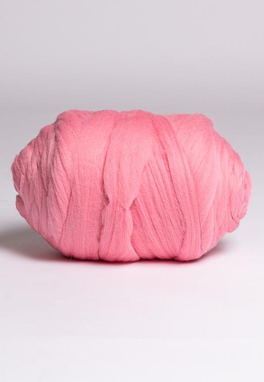 Пряжа Cloudlet толстая, цвет: светло-розовый, 3 кгPO3/светло-розовыйПряжа из 100% мериносовой шерсти - теплая, мягкая, воздушная! Для того, чтобы связать плед размером 80х120 см, понадобится 2 кг данной пряжи.