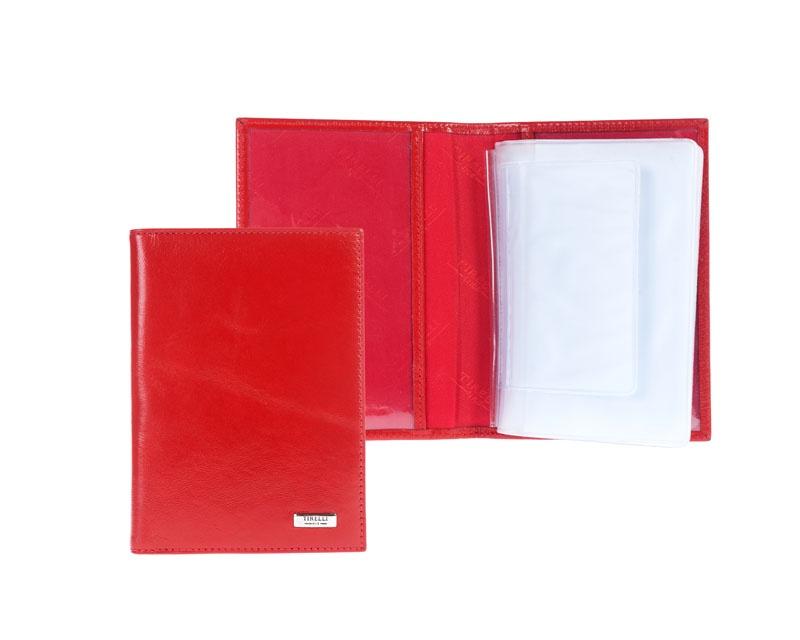 Бумажник водителя Tirelli, цвет: красный. 15-305-14-024-2 цены