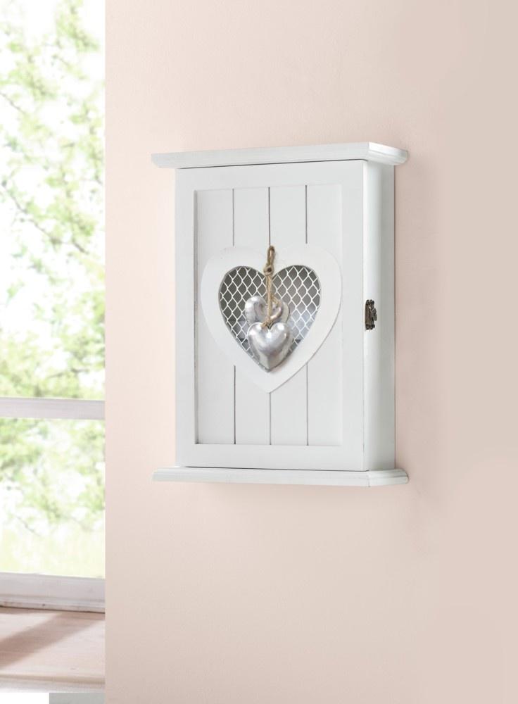 Фото - Ключница Хит-декор Серебряное сердечко, подвесная, 22*8*29 см to4rooms декор настенный ключница bautista