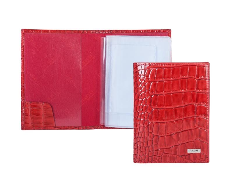 Бумажник водителя Tirelli, цвет: красный. 15-302-14-014-2 цены