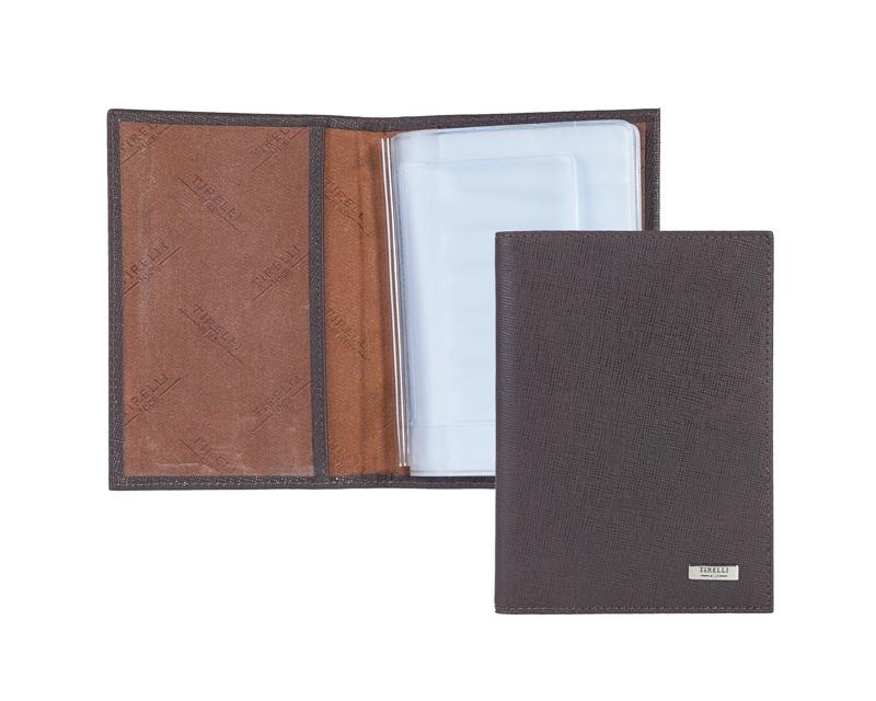 Бумажник водителя Tirelli, цвет: коричневый. 15-302-14-036-2 цены