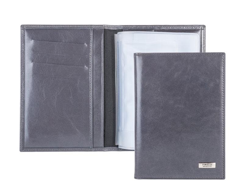 Бумажник водителя Tirelli, цвет: серый. 15-305-14-015-2