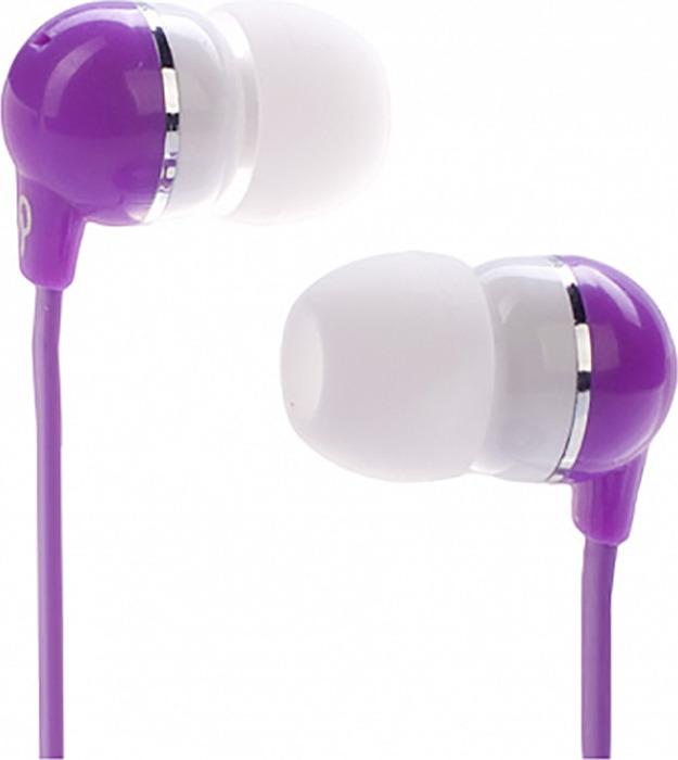 Фото - Наушники внутриканальные Partner Beauty, цвет: фиолетовый газонокосилка partner b305cbs