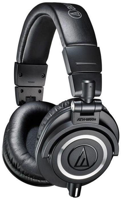 цена на Audio-Technica ATH-M50X, Black наушники