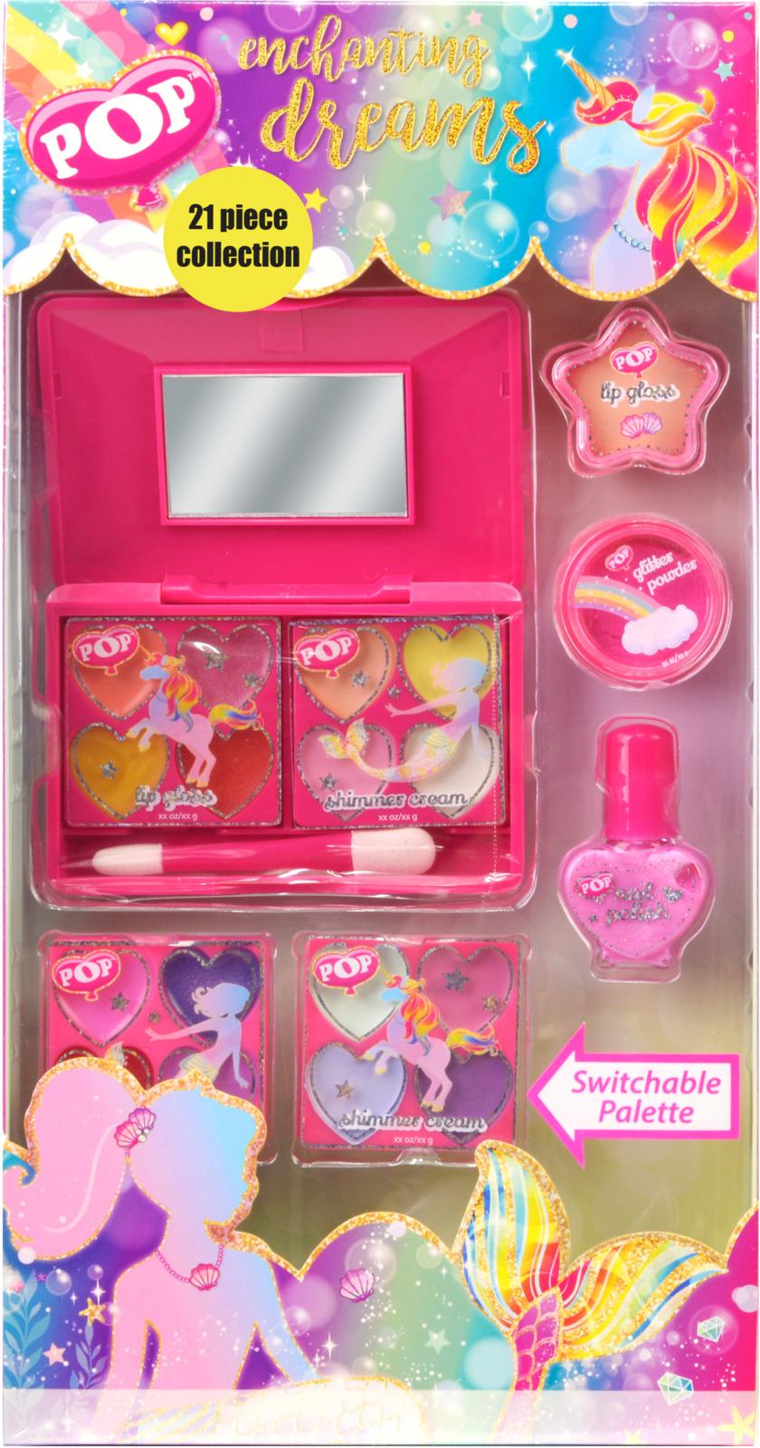 Игровой набор детской декоративной косметики Markwins POP, для лица и ногтей игровой набор детской декоративной косметики markwins pop для губ и ногтей 3605251