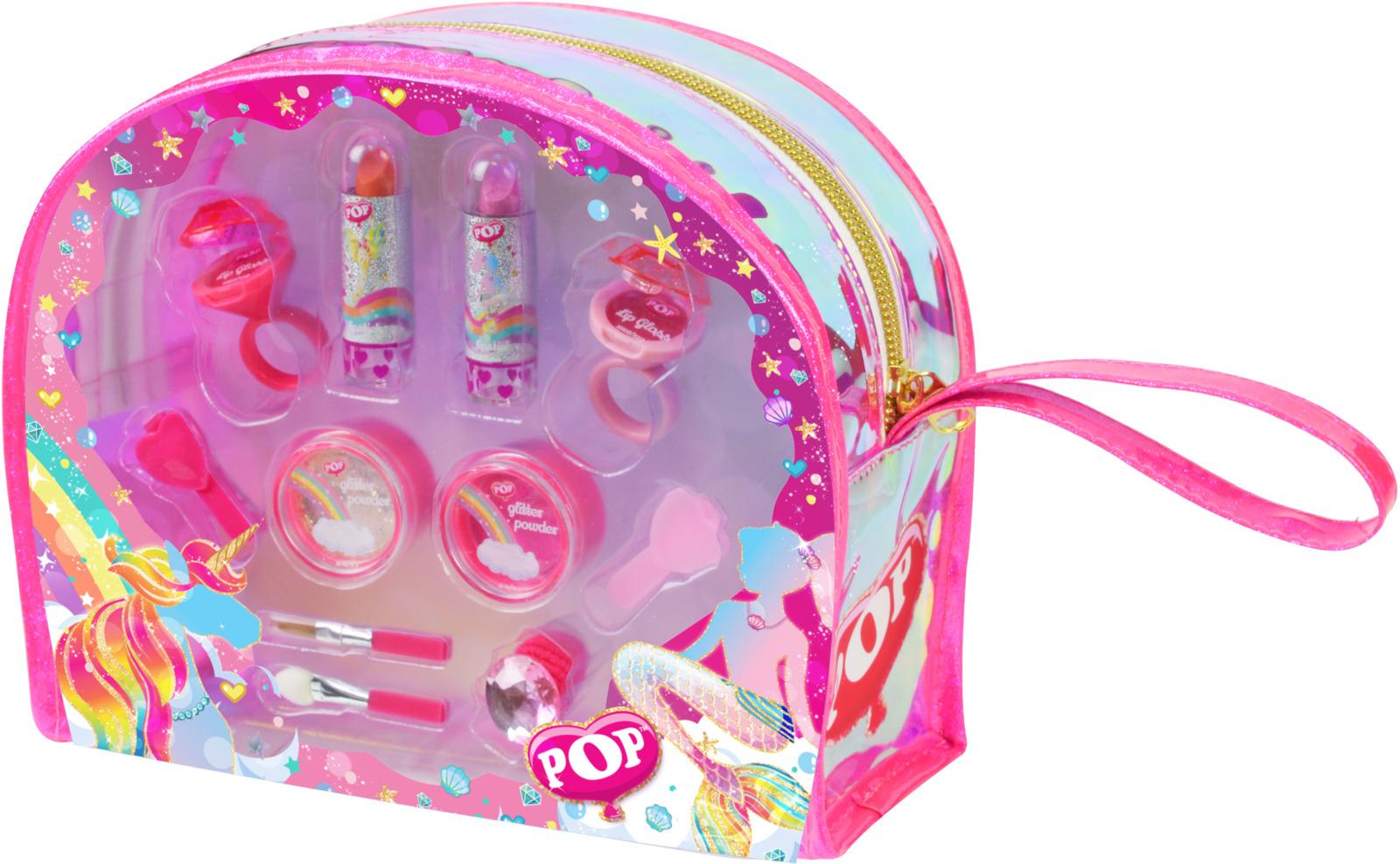 Игровой набор детской декоративной косметики Markwins POP. 3800651 игровой набор shantou chenghai мелок для волос блеск для губ резиночки 6 шт