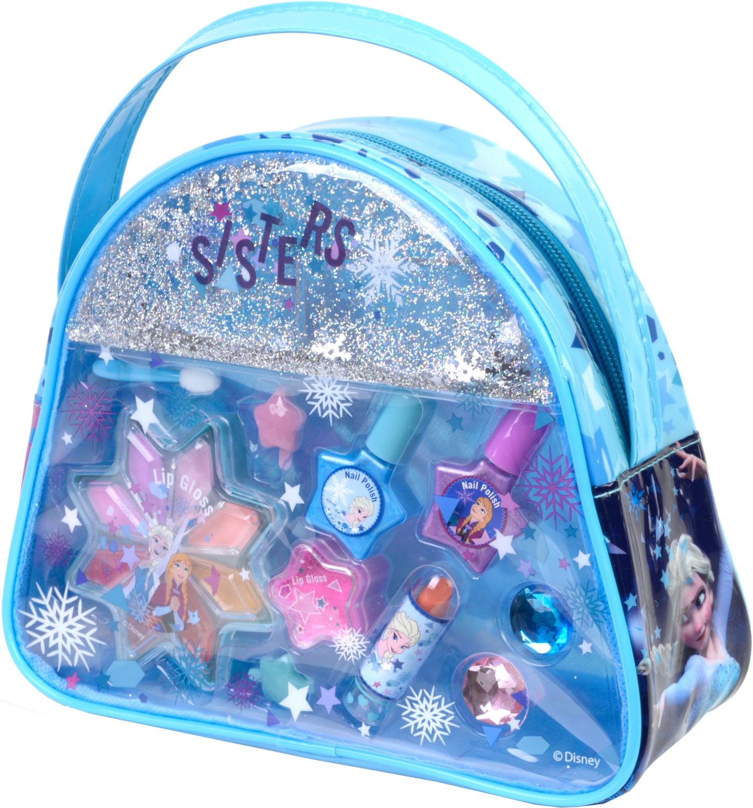 Игровой набор детской декоративной косметики Markwins Frozen. 9800351 markwins minnie большой игровой набор детской декоративной косметики для ногтей