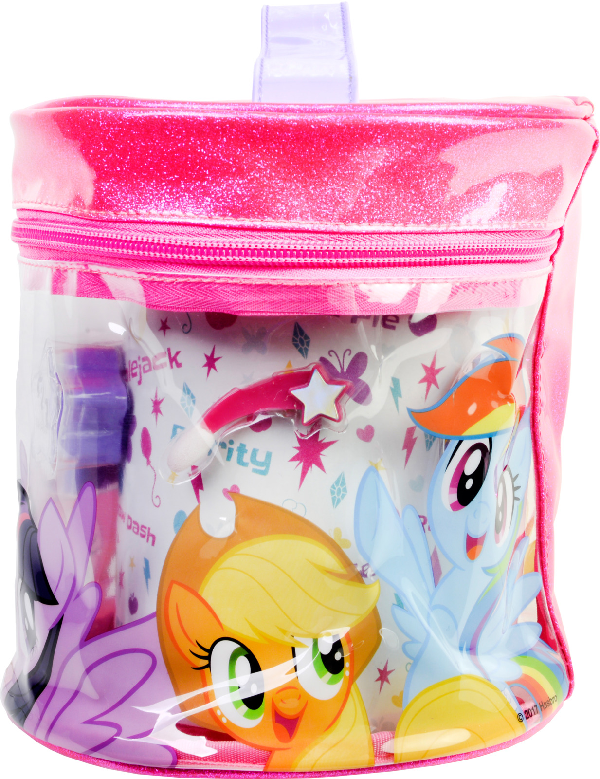 Игровой набор детской декоративной косметики Markwins My Little Pony. 9802351 игровой набор shantou chenghai мелок для волос блеск для губ резиночки 6 шт