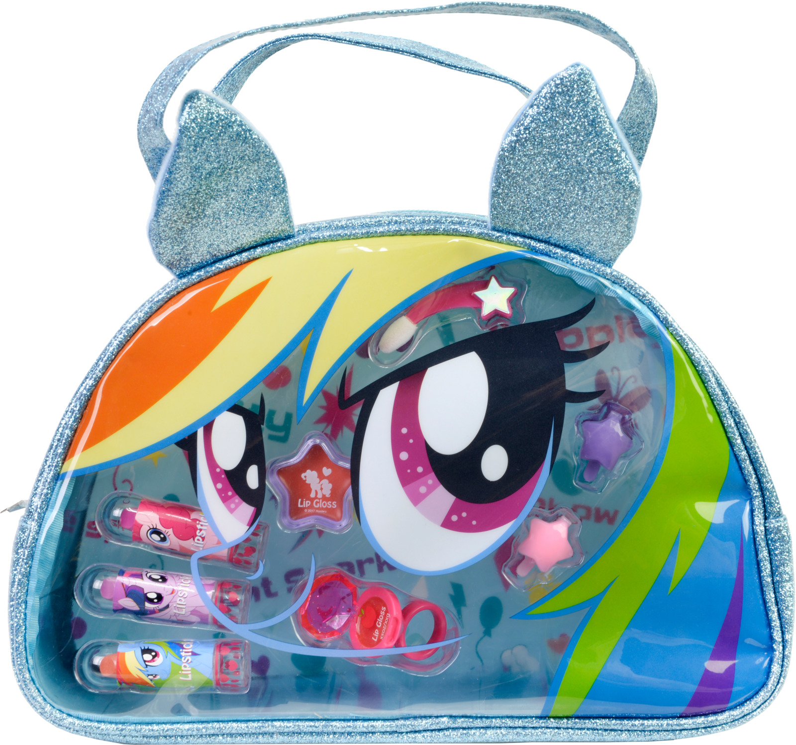 Игровой набор детской декоративной косметики Markwins My Little Pony. 9802451 игровой набор shantou chenghai мелок для волос блеск для губ резиночки 6 шт