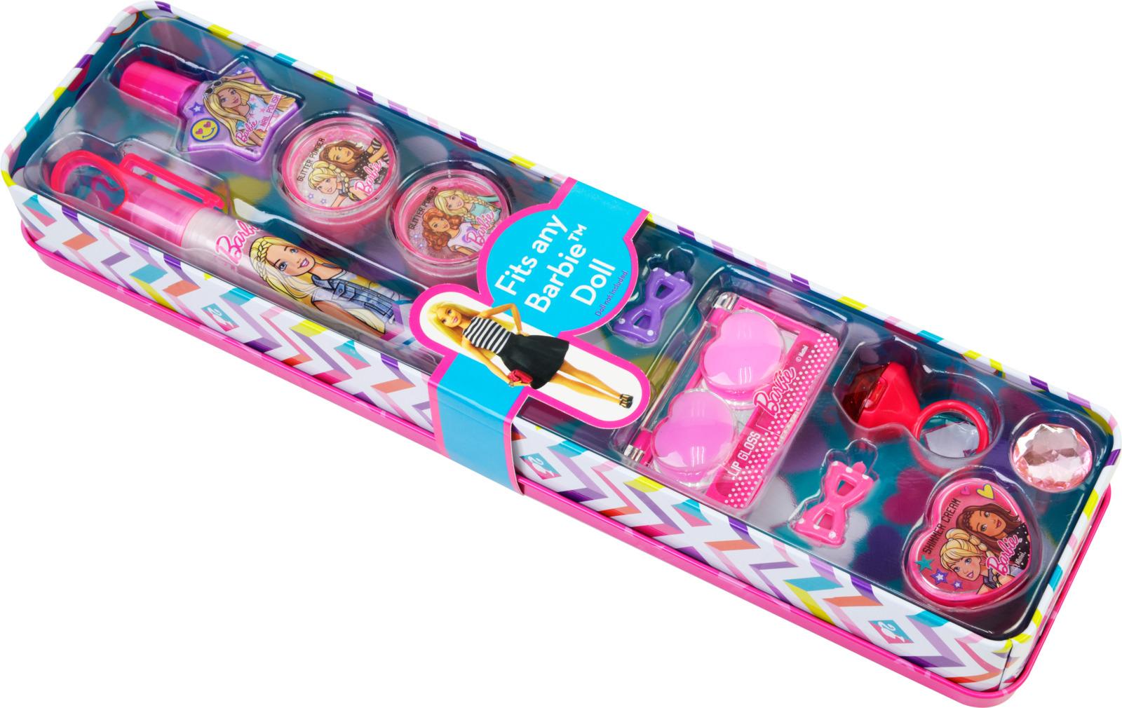 Игровой набор детской декоративной косметики Markwins Barbie. 9803451 игровой набор shantou chenghai мелок для волос блеск для губ резиночки 6 шт