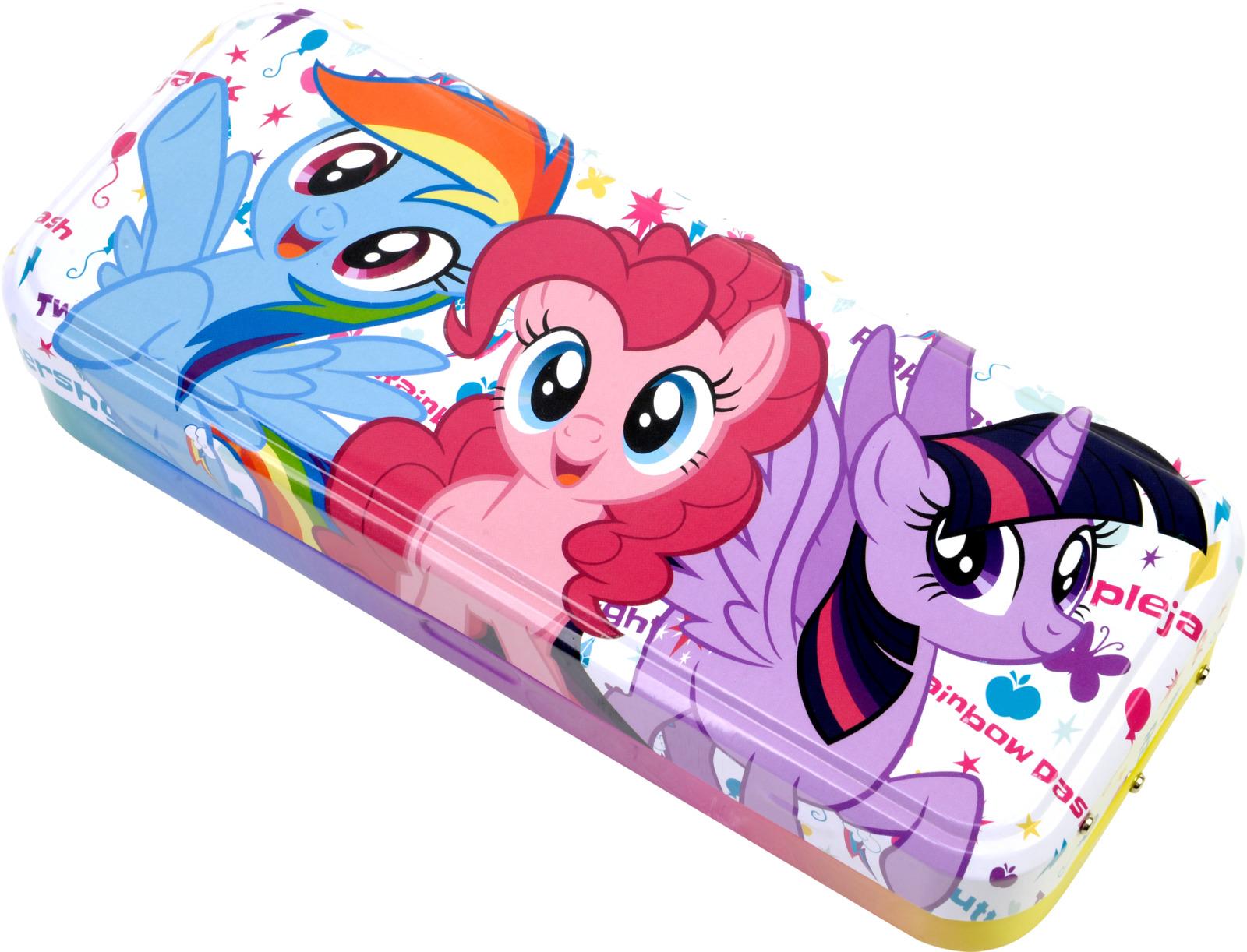 Игровой набор детской декоративной косметики Markwins My Little Pony. 9806551 игровой набор shantou chenghai мелок для волос блеск для губ резиночки 6 шт