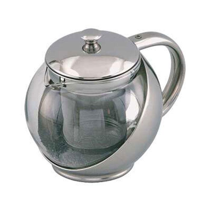 Чайник заварочный Bohmann, цвет: хром, 0,9л. 9623BH цены онлайн