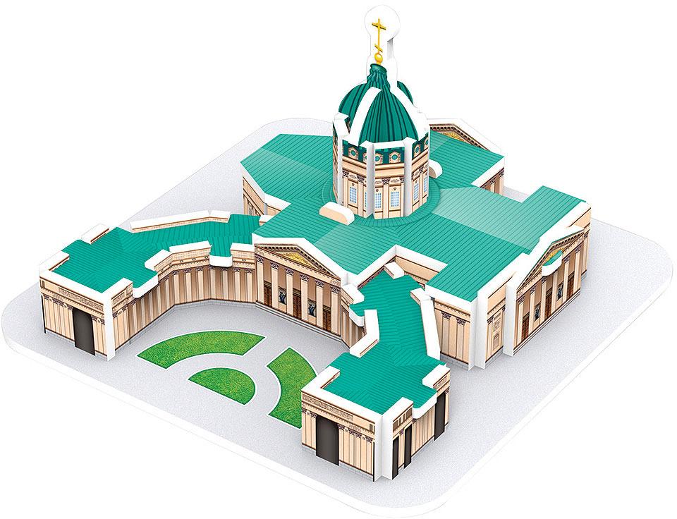 3D Пазл IQ 3D Puzzle Казанский Собор, СПб iq 3d puzzle 3d пазл сиднейский оперный театр