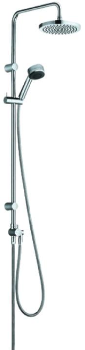Душевой комплект Kludi Zenta 660900500 душевой набор mariani n920060 верхний душ круглый ø 30 см ручн лейка с держ верхнего душа 40см шланг