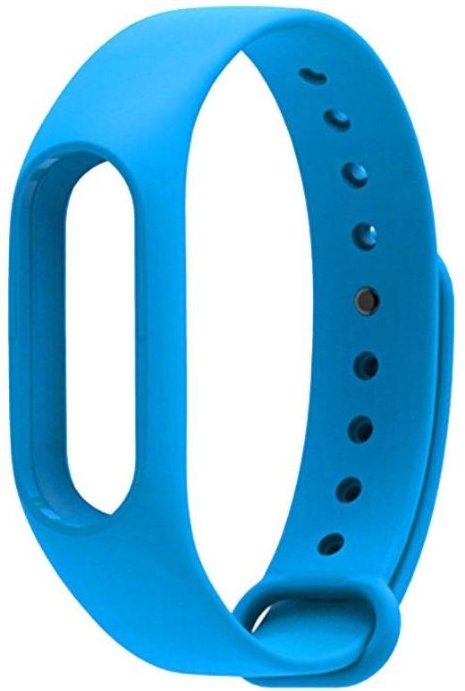 Ремешок силиконовый для фитнес трекера Xiaomi Mi Band 2 голубой фитнес трекер xiaomi mi band 2