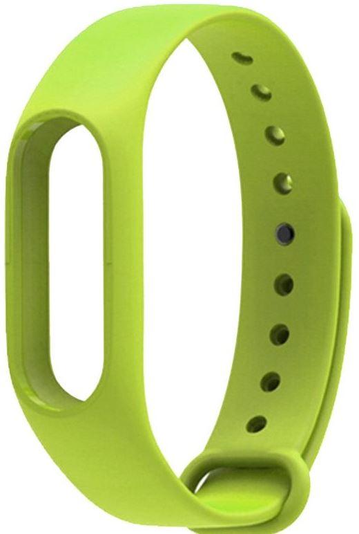 Ремешок силиконовый для фитнес трекера Xiaomi Mi Band 2 зеленый фитнес трекер xiaomi mi band 2