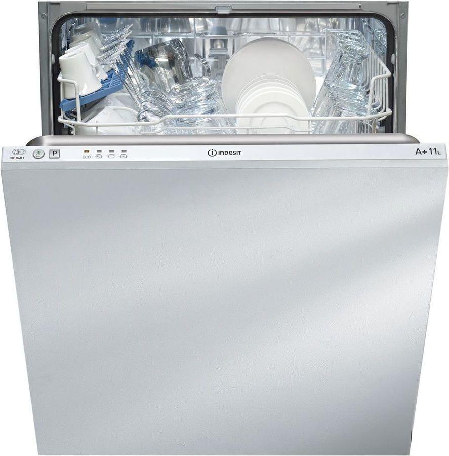 Посудомоечная машина Indesit DIF 04B1 EU, 90000006362, встраиваемая, белый встраиваемая посудомоечная машина st733tl smeg
