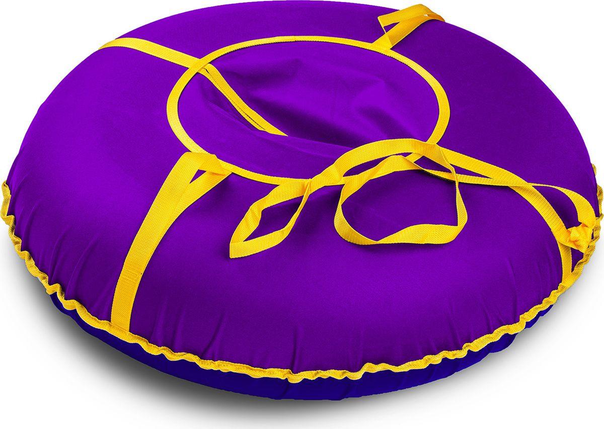 Санки надувные Иглу Сноу, цвет: фиолетовый, диаметр 110 см цена