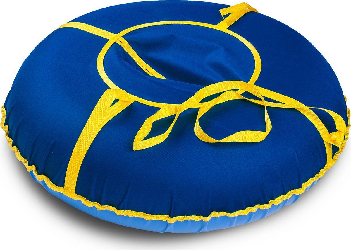 Санки надувные Иглу Сноу, цвет: синий, диаметр 80 см цена