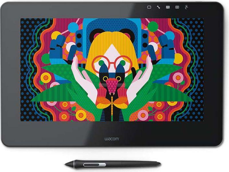 Графический планшет Wacom Cintiq Pro 13 FHD LP, цвет: черный