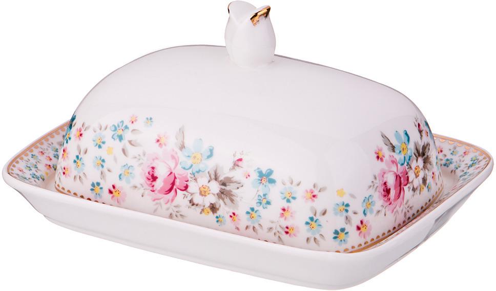 Масленка Lefard Мадемуазель кики, 17 х 13 х 8 см. A99/5# коробка подарочная veld co giftbox трансформер белые розы цвет разноцветный 17 5 х 17 5 х 17 см