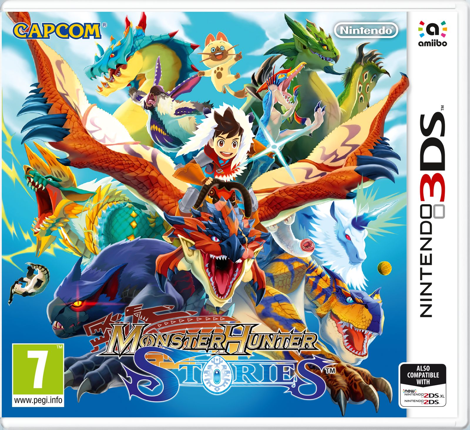 Monster Hunter Stories (Nintendo 3DS) monster hunter 4g mh4 front