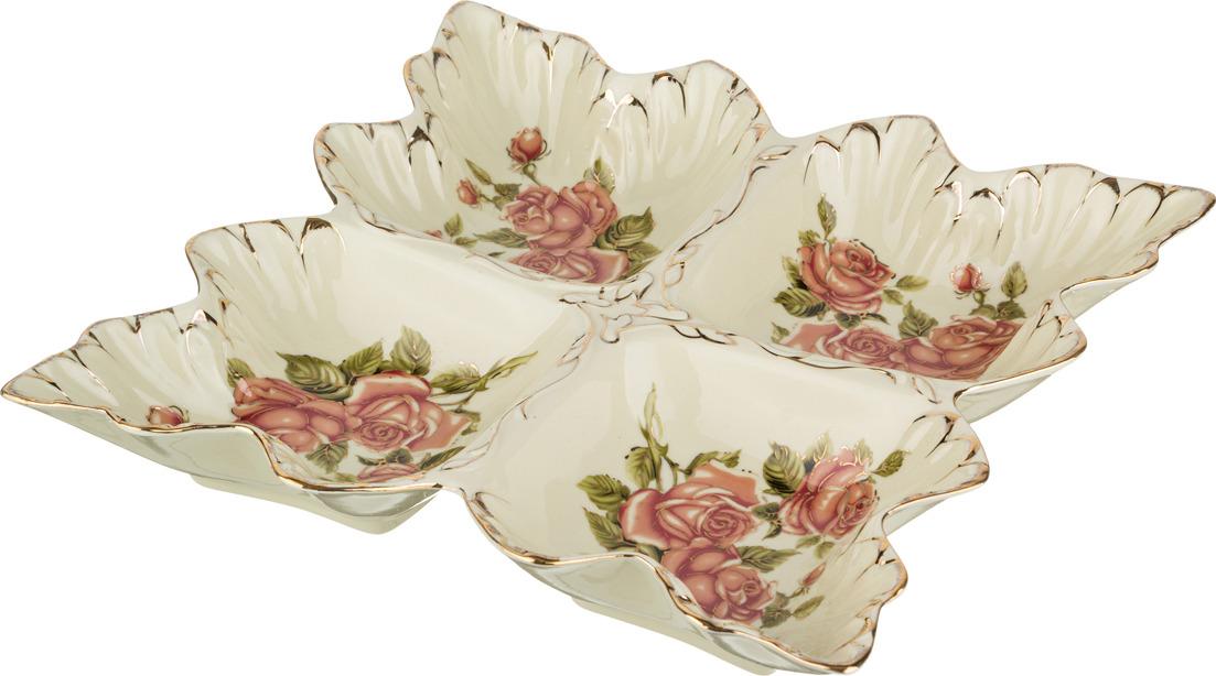 Менажница Lefard Корейская роза, 31 х 31 х 5 см. CK-3565 блюдо lefard корейская роза 34 х 30 х 5 см ck 4333