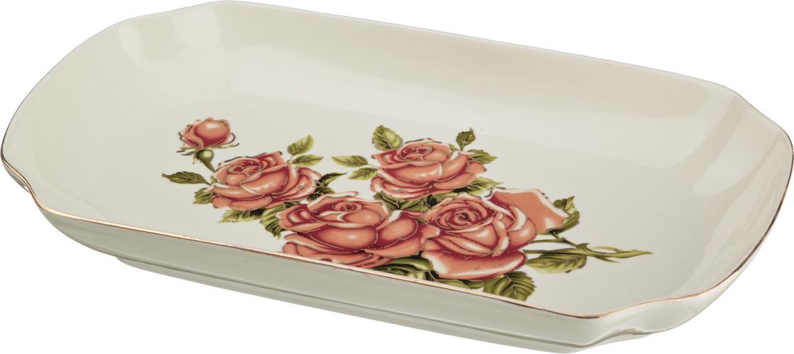 Блюдо-шубница Lefard Корейская роза, 30 х 17 х 4 см. CK-4813 блюдо lefard корейская роза 34 х 30 х 5 см ck 4333