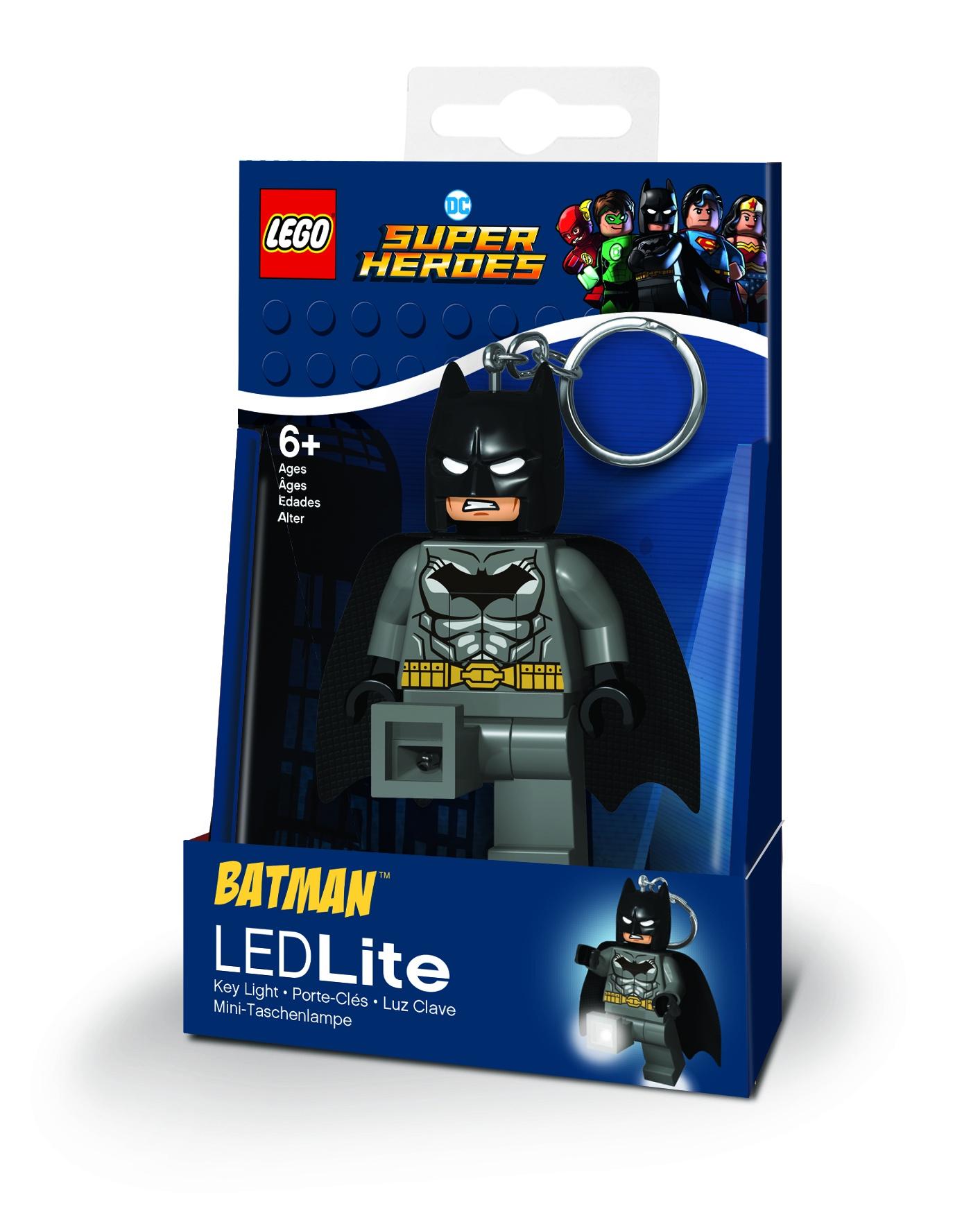 Брелок бижутерный DC Super Heroes (Супер Герои DC) lego брелок фонарик для ключей lego super heroes robin