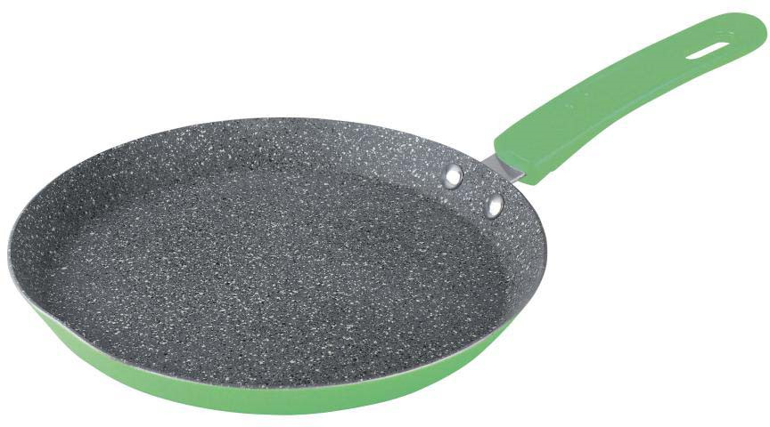 Сковорода блинная Bekker, с мраморным покрытием. Диаметр 26 см. BK-7956