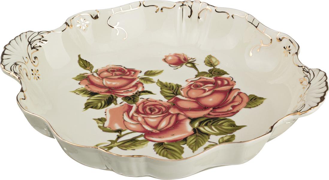 Блюдо Lefard Корейская роза, 34 х 30 х 5 см. CK-4333 розетка lefard корейская роза 11см фарфор