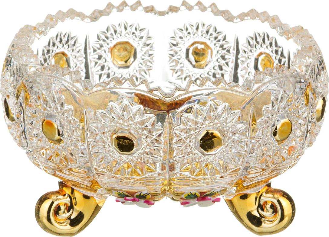 Конфетница Lefard Голден, диаметр 11 см. GB4017PK конфетница 11 см irena holding конфетница 11 см