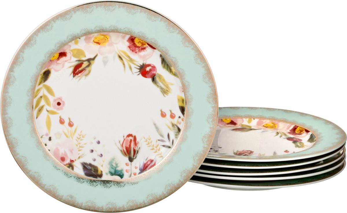 Набор десертных тарелок Lefard, диаметр 20 см, 6 шт. 858G-16PP-8 цены