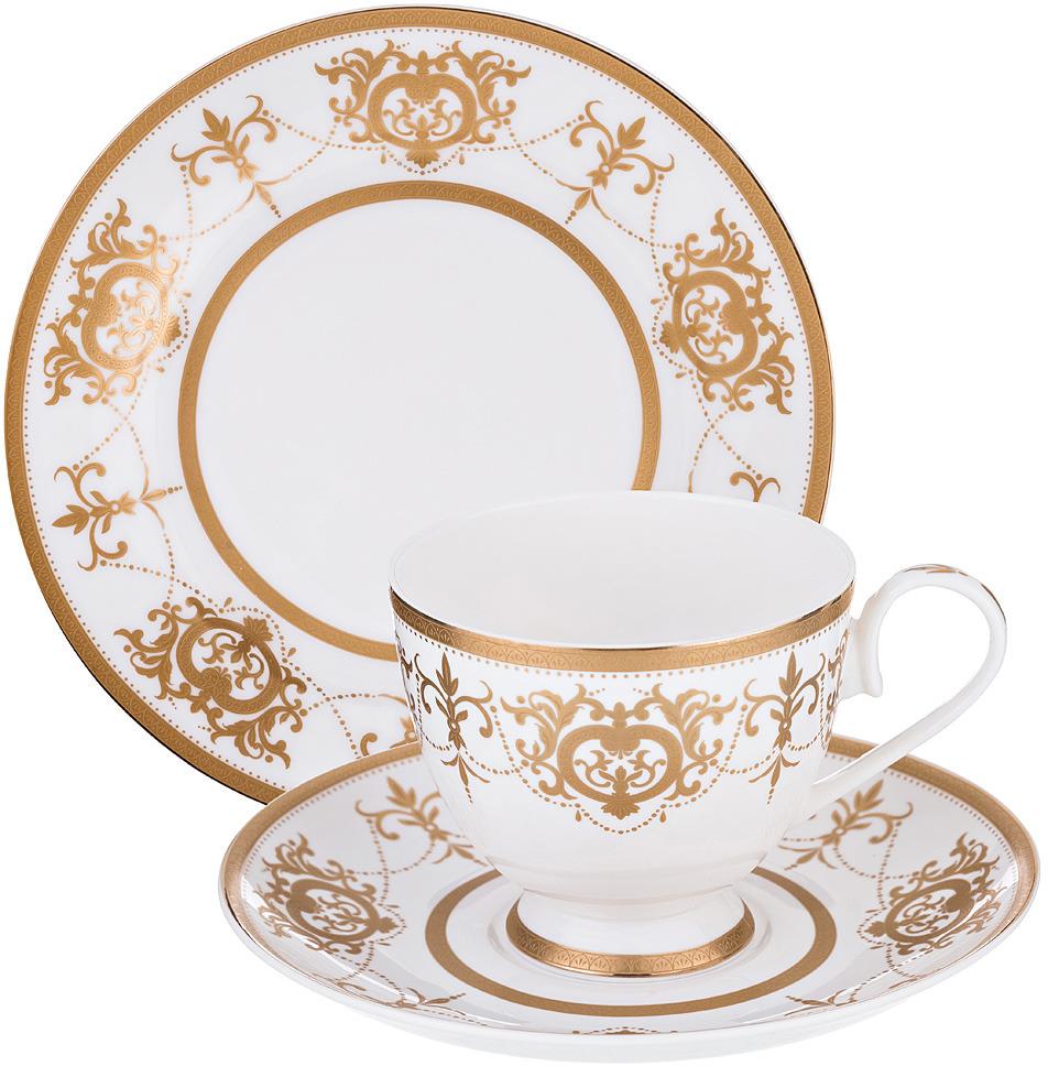 Набор для десерта Lefard, 3 предмета. 760574 набор чехлов для дивана и кресел мартекс с карманами 3 предмета 05 0751 3