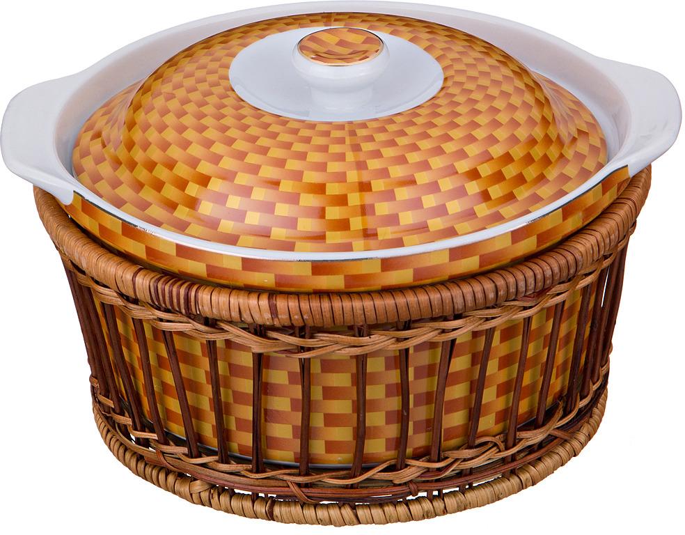 лучшая цена Блюдо Lefard, с крышкой, диаметр 20 см, 1,5 л. SL112