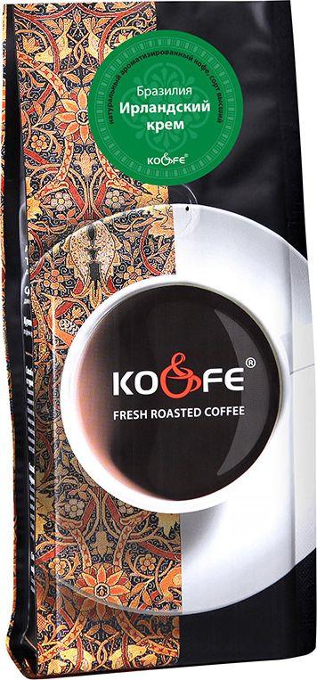 Кофе в зернах KO&FE Ирландский крем, жареный, 200 г цена