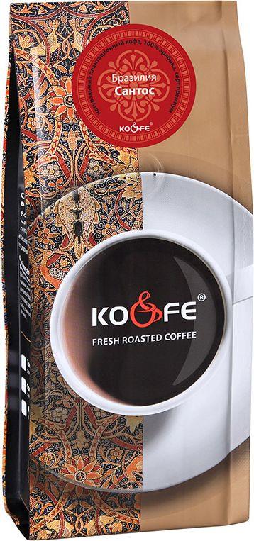 Кофе молотый KO&FE Бразилия Сантос, жареный, 200 г авиабилеты москва бразилия
