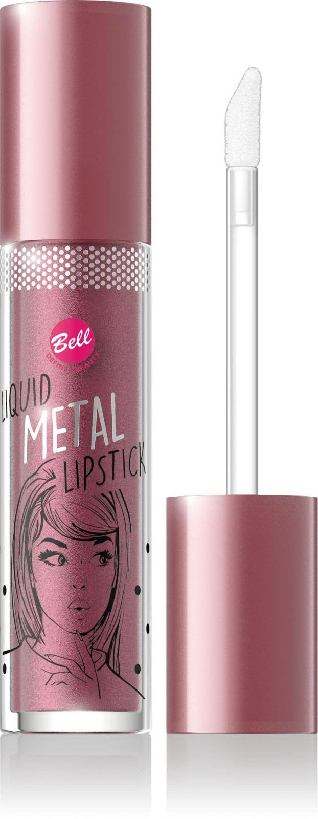 Помада жидкая с эффектом металлик Bell Liquid Metal Lipstick, тон №03BiLllm003Ультрамодный тренд – жидкая губная помада с изысканным металлическим финишем и с мерцающими частицами. Кремовая текстура равномерно ложится на губы и придает губам яркое сияние с металлическим отливом. Содержание увлажняющих веществ дарит губам мягкость для абсолютного комфорта.