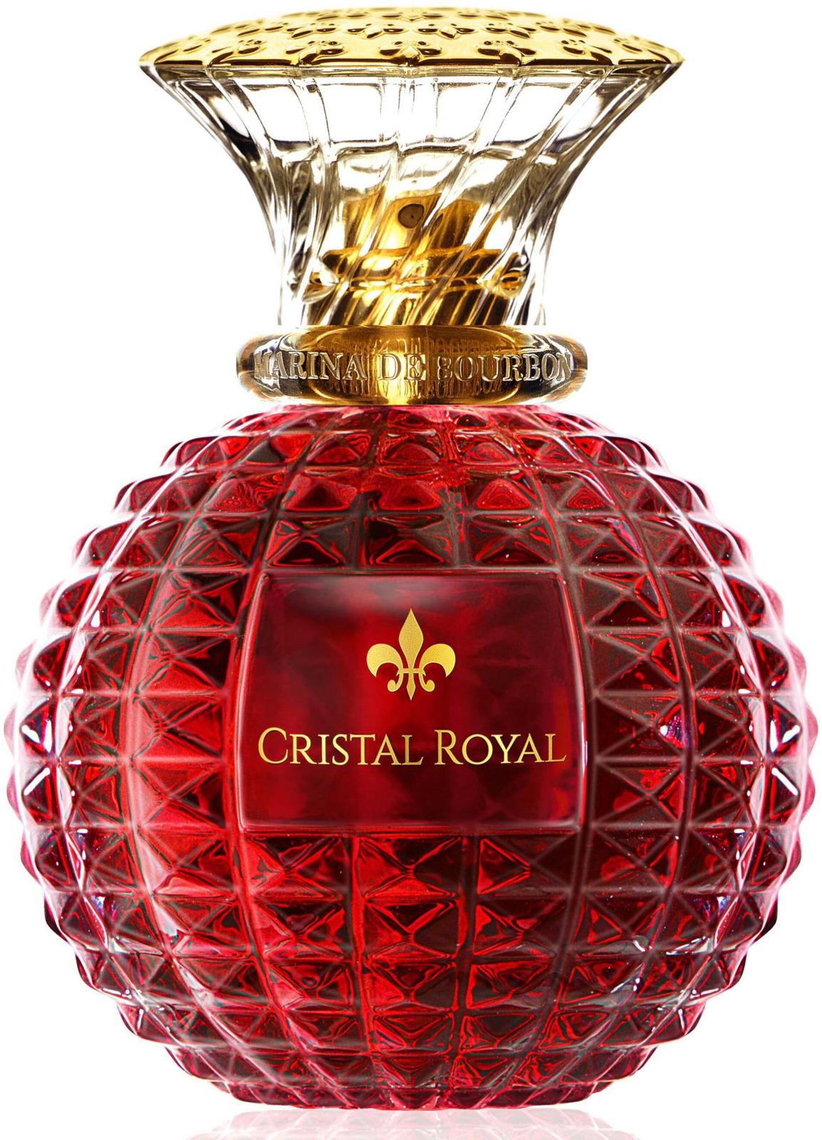 Парфюмерная вода Marina de Bourbon Princesse Paris Cristal Royal Passion, 100 мл1703MBОткройте для себя Cristal Royal Passion - новый аромат парфюмерного дома Princesse Marina de Bourbon - дерзкое сочетание экзотических нот.СИЯНИЕ ЭКЗОТИЧЕСКИХ НОТ.Этот новый аромат Princesse Marina de Bourbon - вуаль женственности и элегантности.Cristal Royal Passion - это соблазнительная композиция, которая сохраняет свое нежное очарование. Завораживающие и соблазнительно-возбуждающие верхние ноты яблока и бергамота и сладкая чувственность красных фруктов склоняются к мягкости цветов с жасмином, туберозой и миндалем для современной, молодой и яркой интерпретации страсти. Чувственный и пробуждающий воспоминания аромат отмечает современную и страстную сторону женщины.СВЕРКАЮЩИЕ ГРАНИ ФЛАКОНА.Драгоценный аромат хранится в красивом граненом флаконе, в полной мере раскрывая многогранность аромата. Ярко-красный флакон, символизирующий страсть, отражается в кристальной прозрачности, раскрывая чарующую и необыкновенную драгоценность.