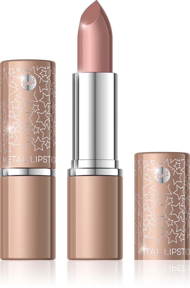 Помада для губ с эффектом металлик Bell Metal Lipstick, тон №02 помада жидкая с эффектом металлик bell liquid metal lipstick тон 03