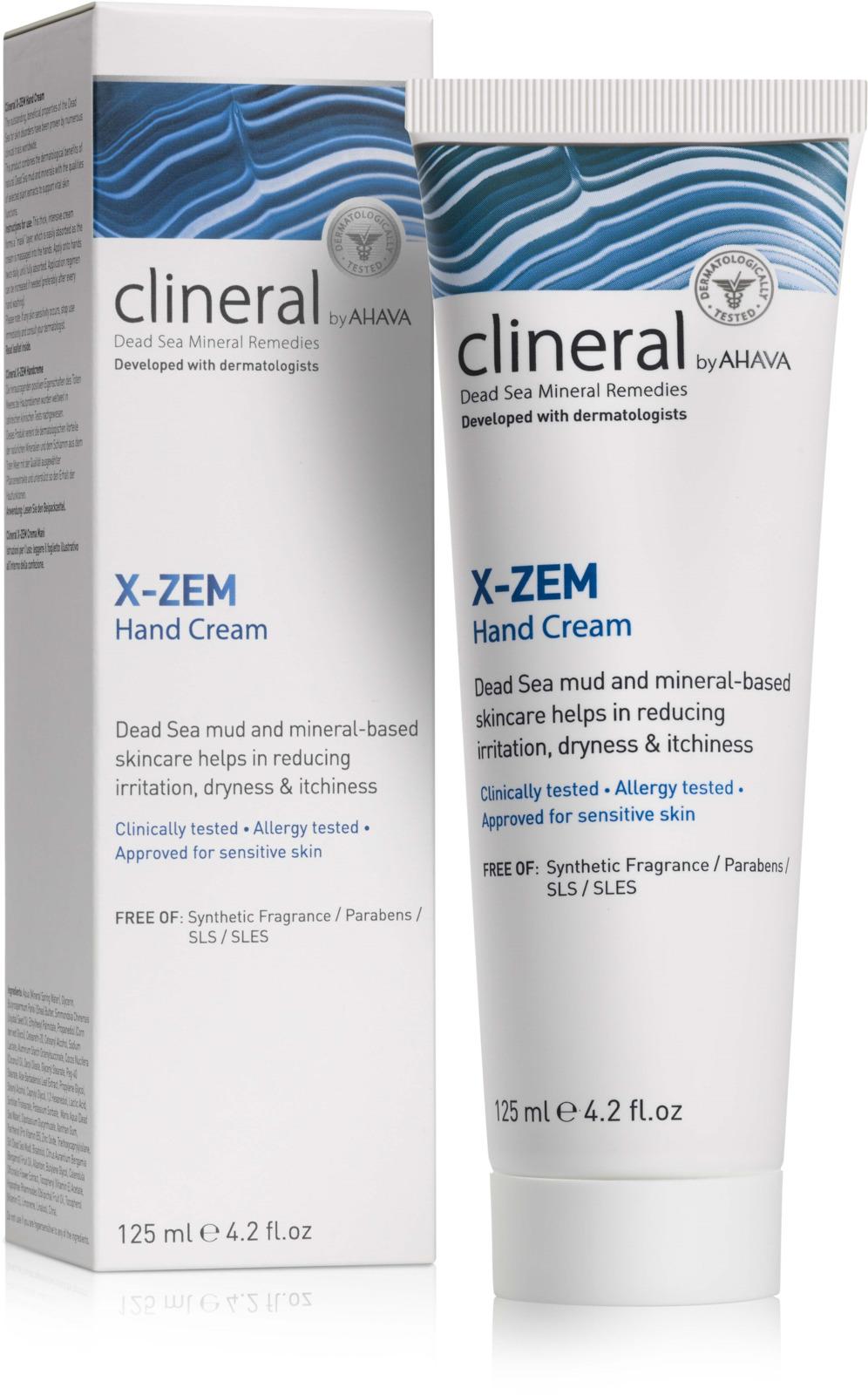 Крем для рук Ahava Clineral X-zem, 125 мл крем для рук ahava clineral x zem 125 мл