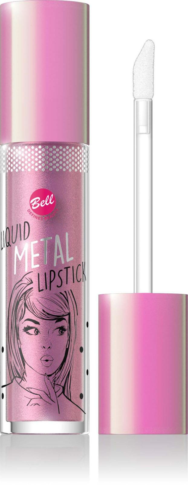 Помада жидкая с эффектом металлик Bell Liquid Metal Lipstick, тон №02 помада жидкая с эффектом металлик bell liquid metal lipstick тон 03