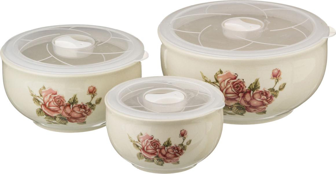 Набор блюд для заливного Lefard Корейская роза, 3 шт. 388210388210Набор блюд для заливного Lefard Корейская роза, 3 шт. 388210