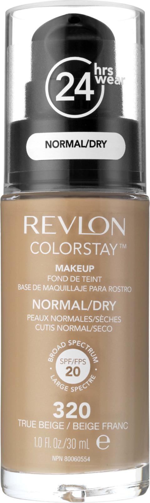 Крем тональный Revlon, Colorstay Makeup For Combination-oily Skin, True beige, тон №320