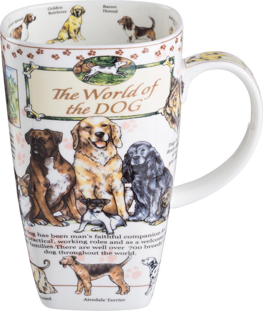 Кружка Lefard The World Of the Dog, 600 мл. HY0020M113-650CC кружка lefard the world of the cat 600 мл hy0020m112 650cc