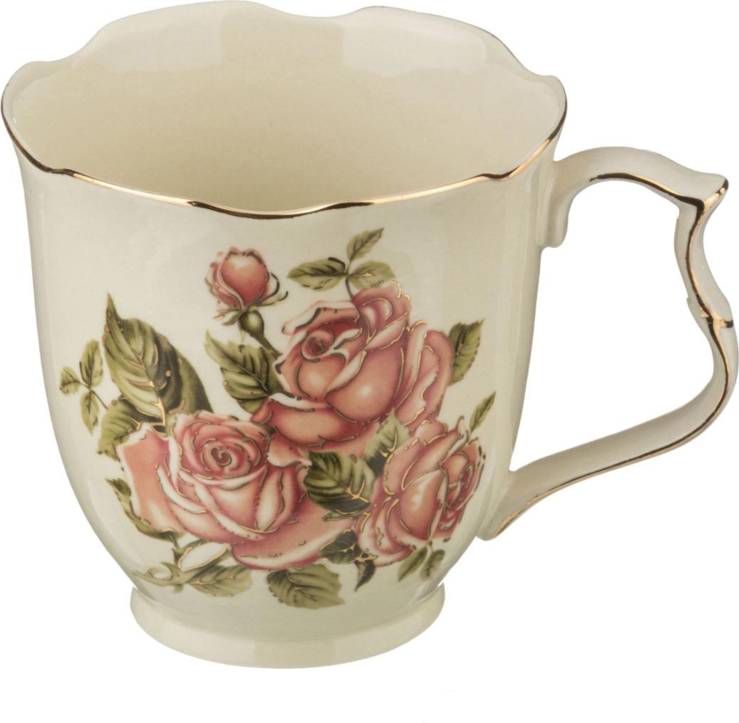 Кружка Lefard Корейская роза, 450 мл. 388204 розетка lefard корейская роза 11см фарфор