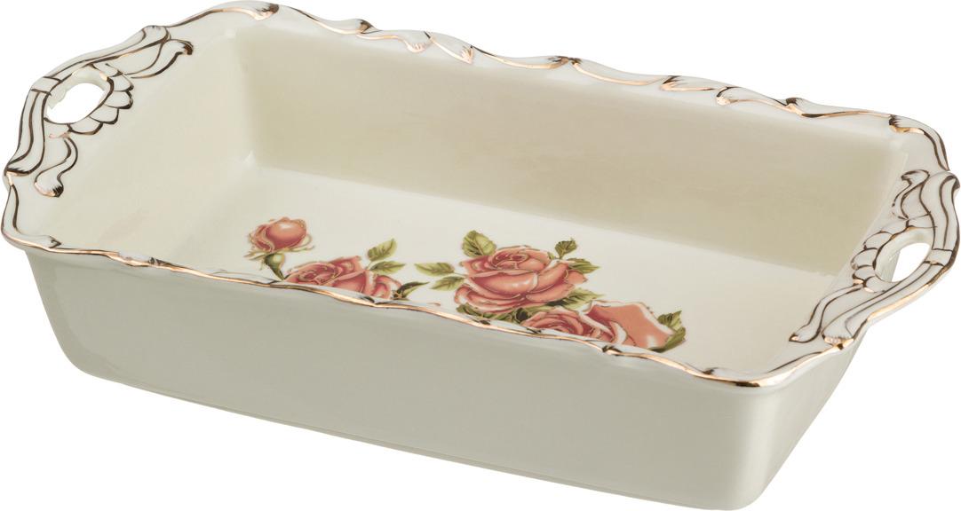 Блюдо-шубница Lefard Корейская роза, 28 х 15 см. CK-6056 розетка lefard корейская роза 11см фарфор