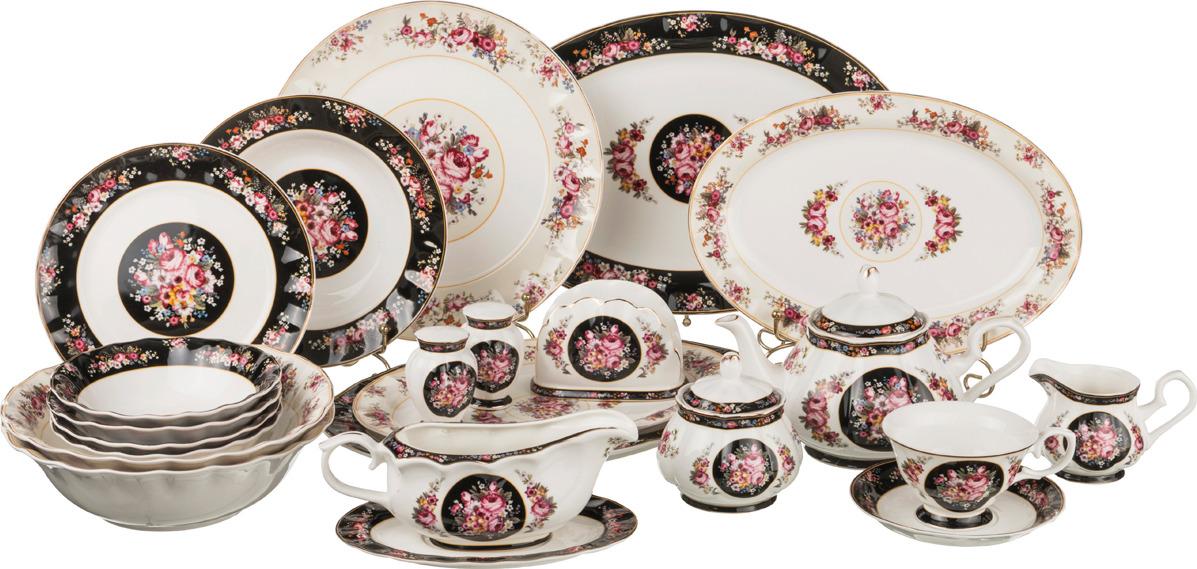 Сервиз столово-чайный Lefard, 80 предметов. P183-80 сервиз обеденный lefard 26 предметов золотая обводка