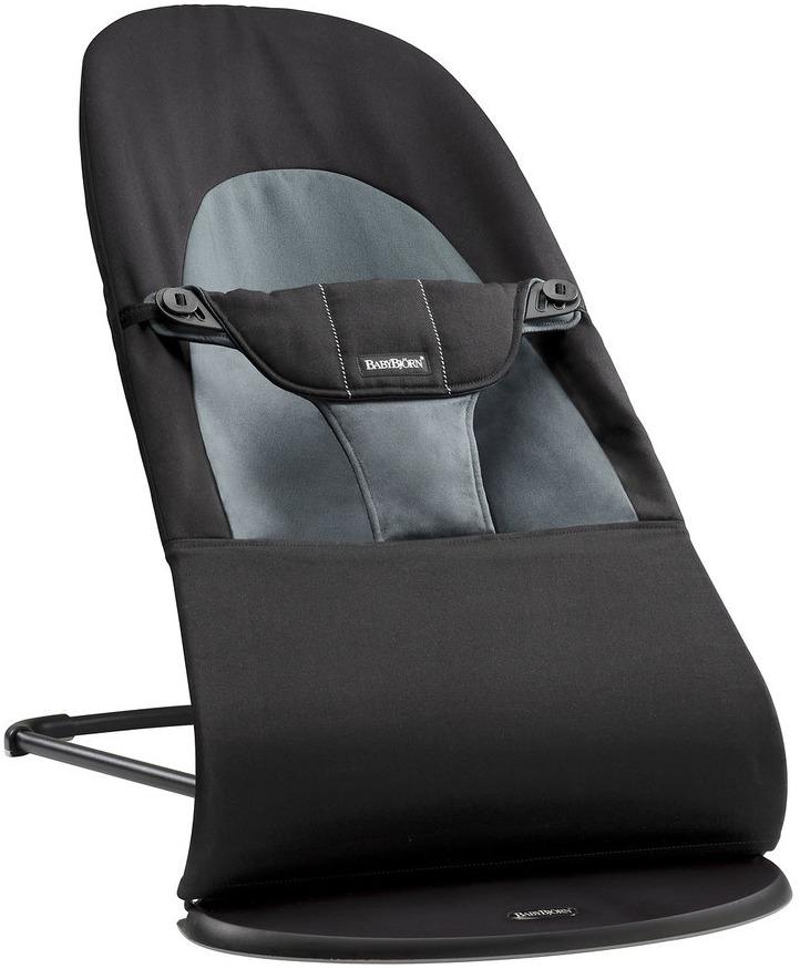 цена на Кресло-шезлонг BabyBjorn Balance Soft, цвет: темно-серый