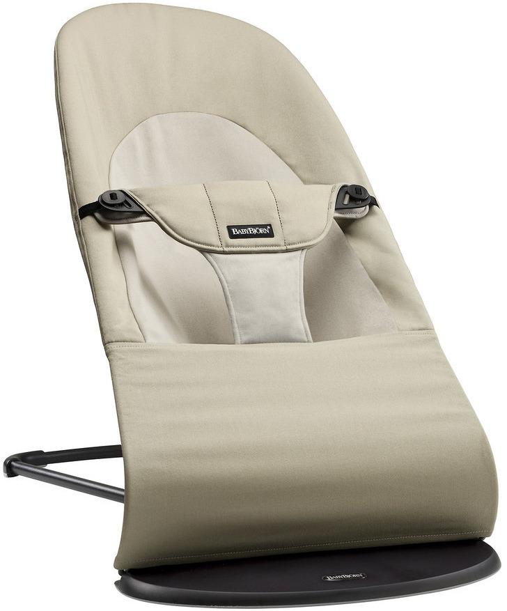 цена на Кресло-шезлонг BabyBjorn Balance Soft, цвет: бежевый